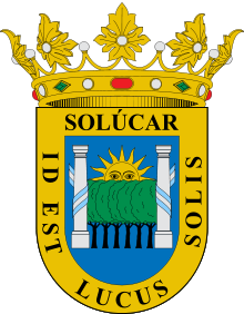 Escudo de Sanlúcar la Mayor
