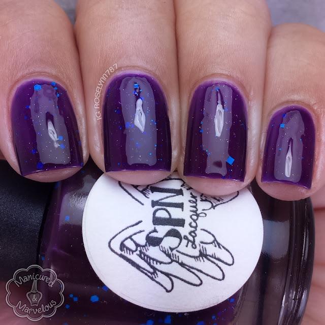 Supernatural Lacquer - Purple Nurpled
