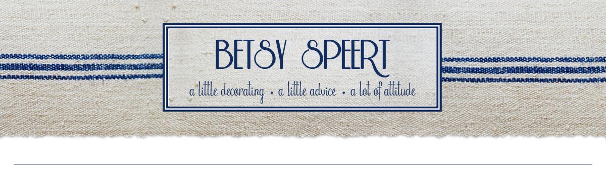 Betsy Speert's Blog