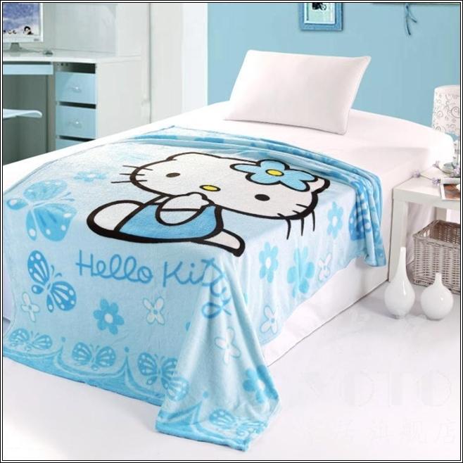 Idee Papier Peint Chambre Bebe Mixte : Décorez la chambre de votre petite fille avec Hello Kitty thème