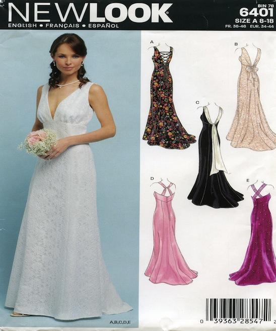Luxury Vogue Bridesmaid Dress Patterns Photo - Womens Dresses ...