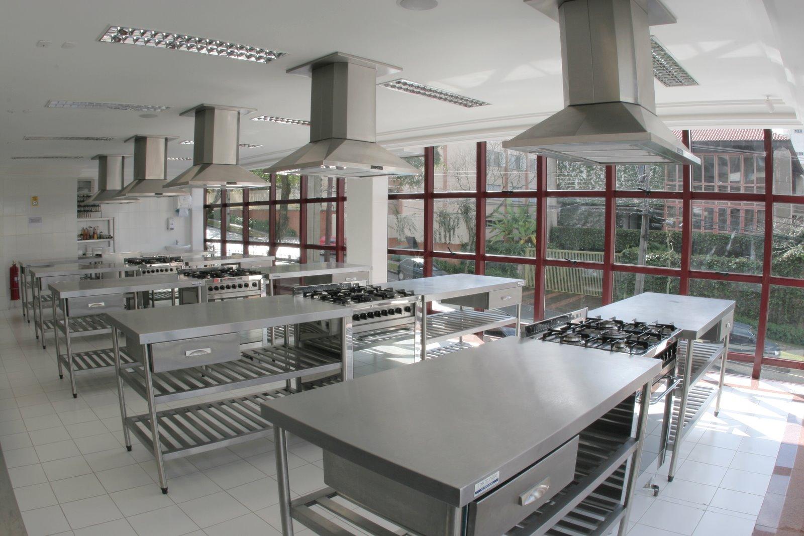 Kairos Espa O Gourmet Com Churrasqueira E Coifas Cozinha Industrial