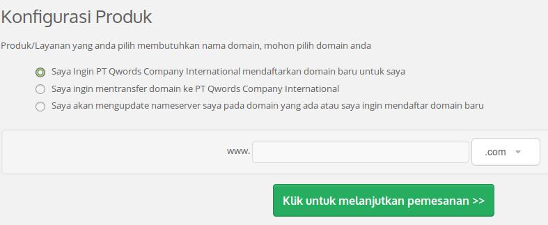 Lanjutkan Proses Pemesanan Hingga Selesai Setelah Itu Tunggu Layanan Free Domain Parking Ini Aktif