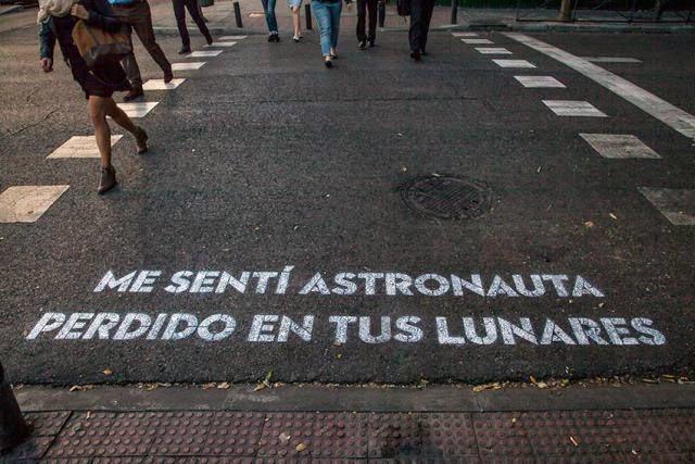 Madrid te comería a versos Leiva poesia calle