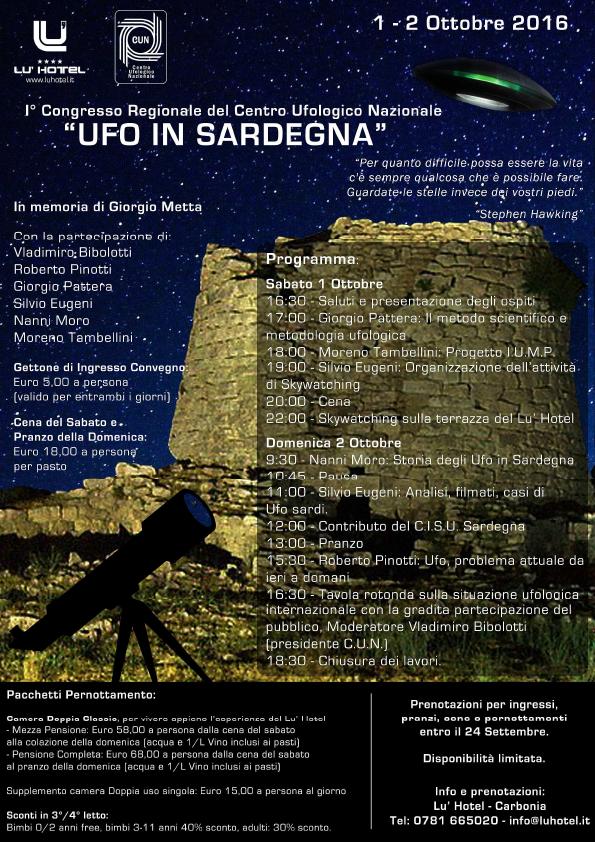 UFO IN SARDEGNA