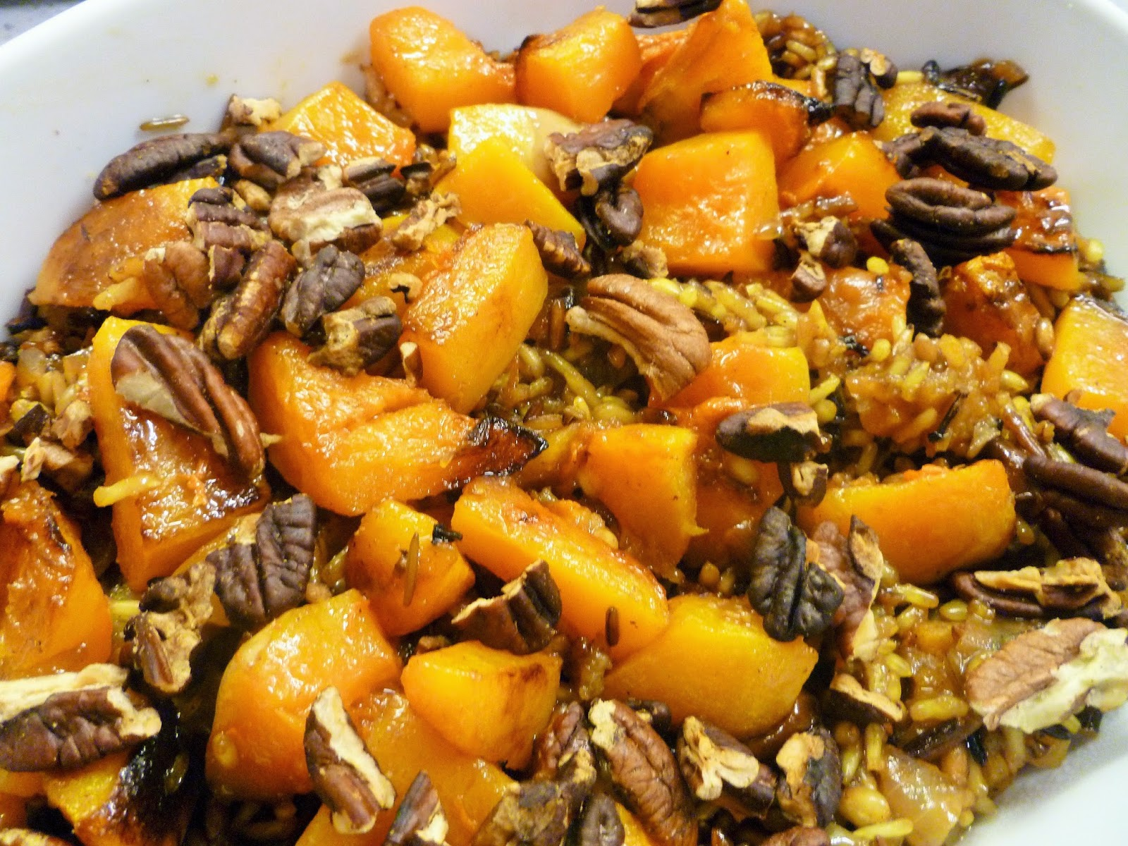 Mixed Rice Pilaf With Dried Cherries, Apricots And Cinnamon Recipes ...