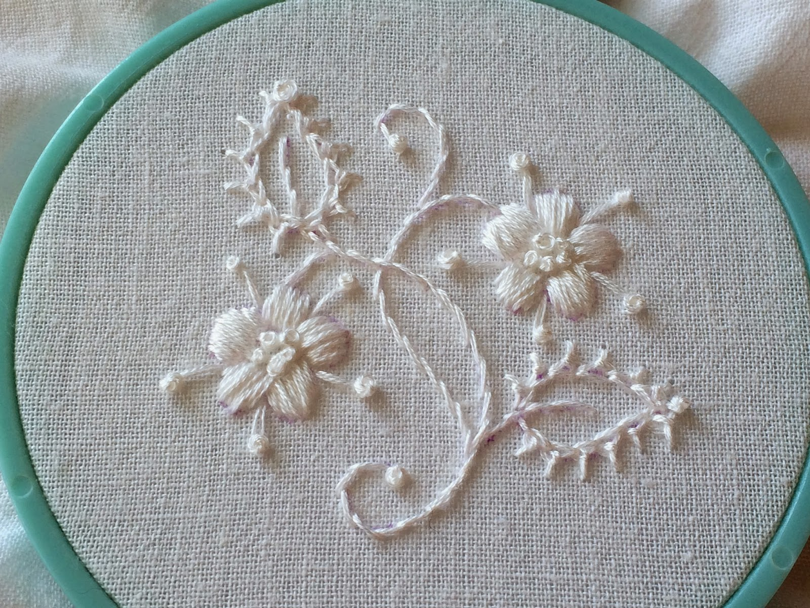 Feeling Stitchy Adventures In Whitework Mountmellick Stitch