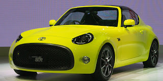 Teeny Sports Cars Belonging To Toyota