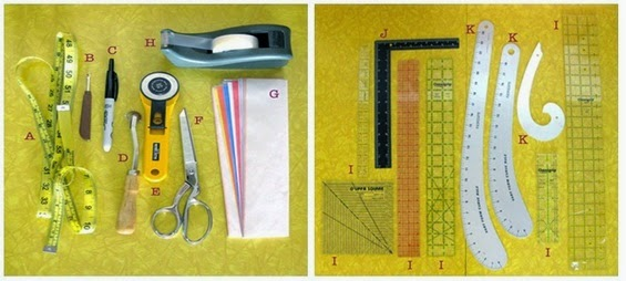 Tools use for Drafting
