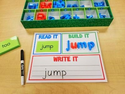 Read It, Build It, Write ItAll 220 Dolch Sight Words Included: http://mrsgilchristsclass.blogspot.com/2012/04/sight-words-powerpoint-freebie.html