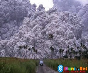 Letusan gunung terdahsyat didunia
