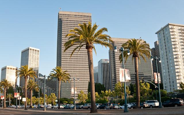 Edificios en la Hermosa Ciudad de San Francisco California