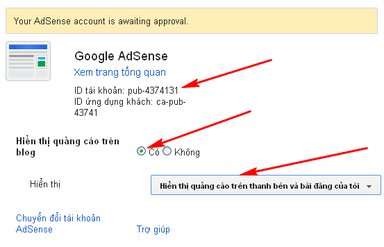 Cách đăng ký Google AdSense cho Blogger Blogspot