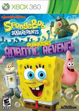 SpongeBob SquarePants Planktons Robotic Revenge Xbox 360 Region Free