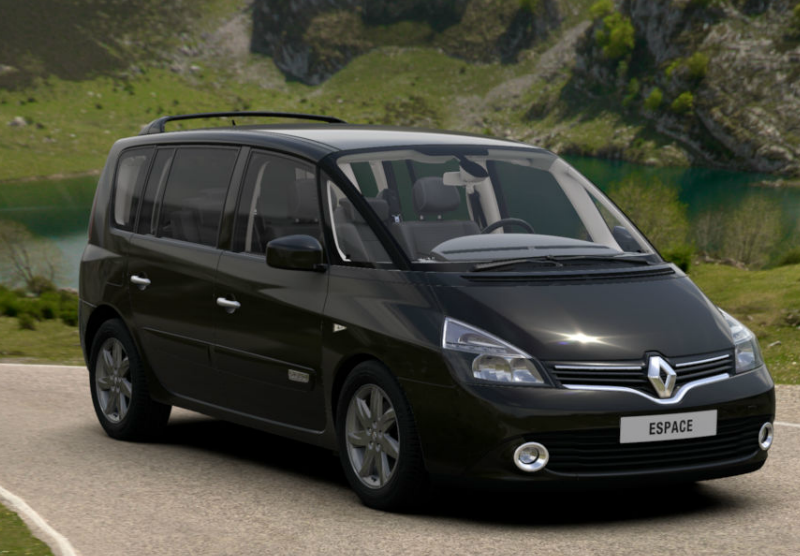renault espace iv restyl 2014 couleurs colors. Black Bedroom Furniture Sets. Home Design Ideas
