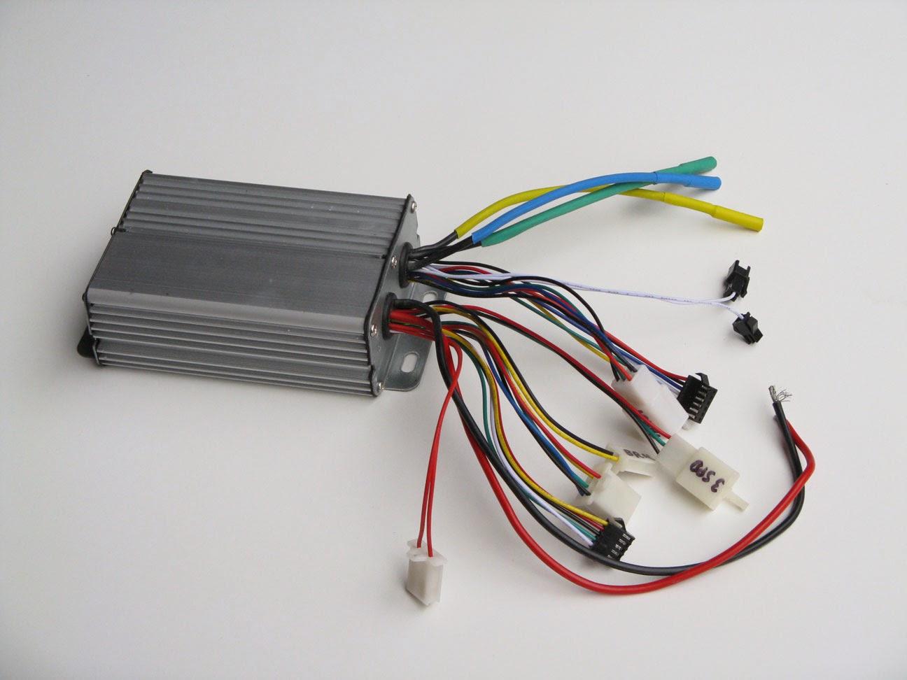 My Solar Electric Cargo Bike: The motor