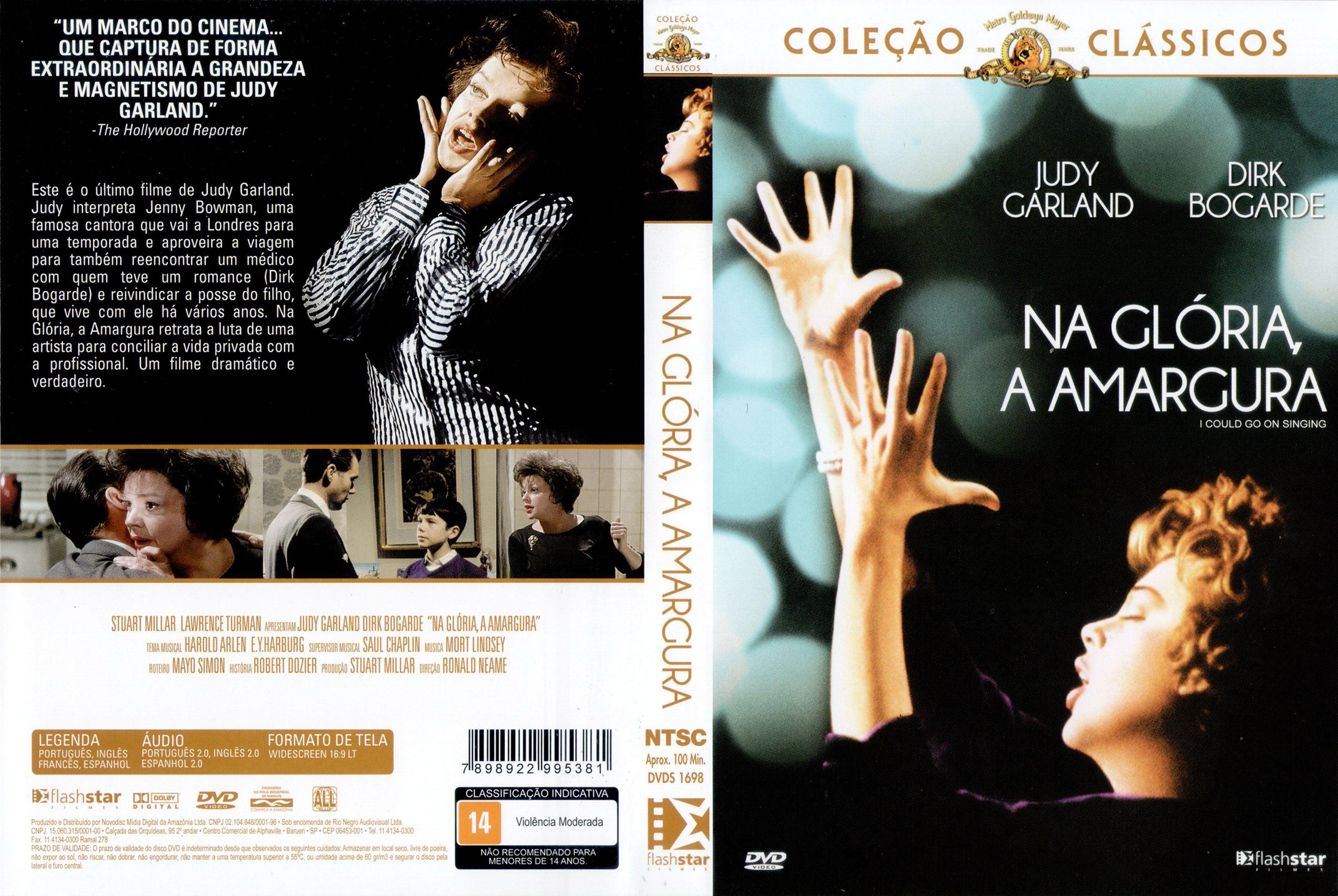 Capa DVD Na Glória, A Amargura