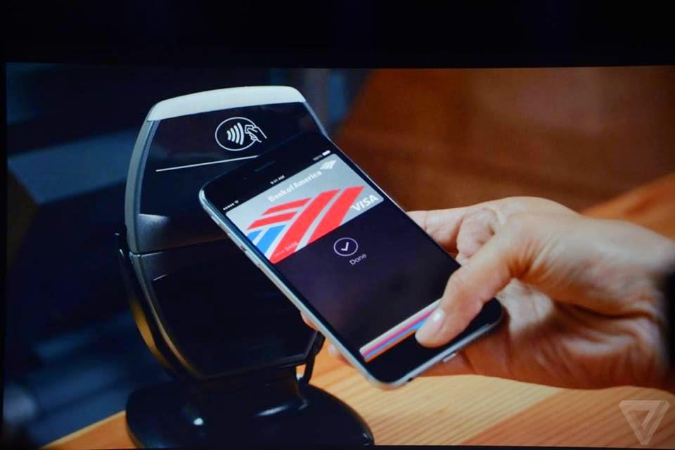 صورة عن الـ Apple Pay