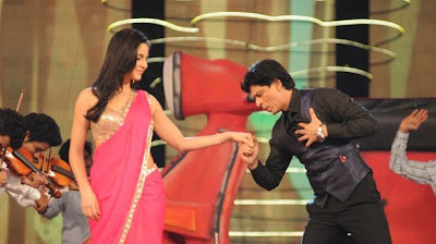 shahrukh khan katrina kaif at colors screen award