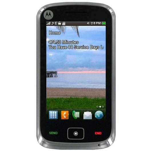 new net10 motorola ex124g touchscreen   80 at walmart prepaid phone