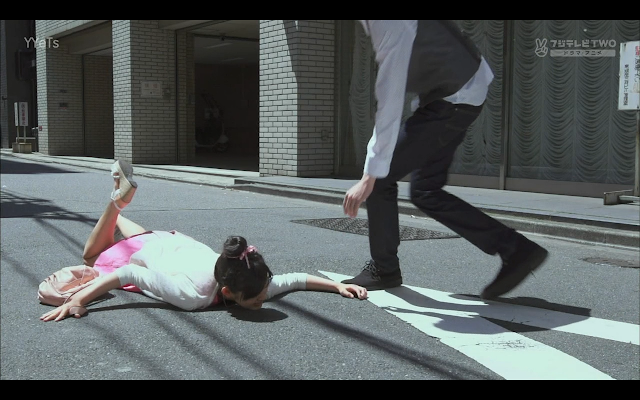 That is until Kotoko falls flat on her face.