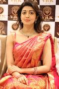 Pranitha glamorous photos at VRK Silks-thumbnail-11
