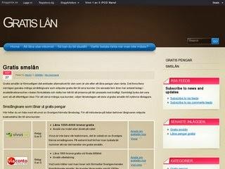 En Bild på gratis lån bloggen