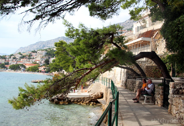 Strand bei Baska Voda und Brela - Kroatien