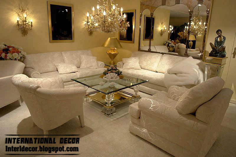 Turkish Living Room Ideas With Embossed Furniture And Stylish Accessories