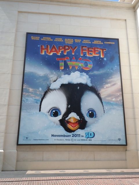 Happy Feet Two movie billboard