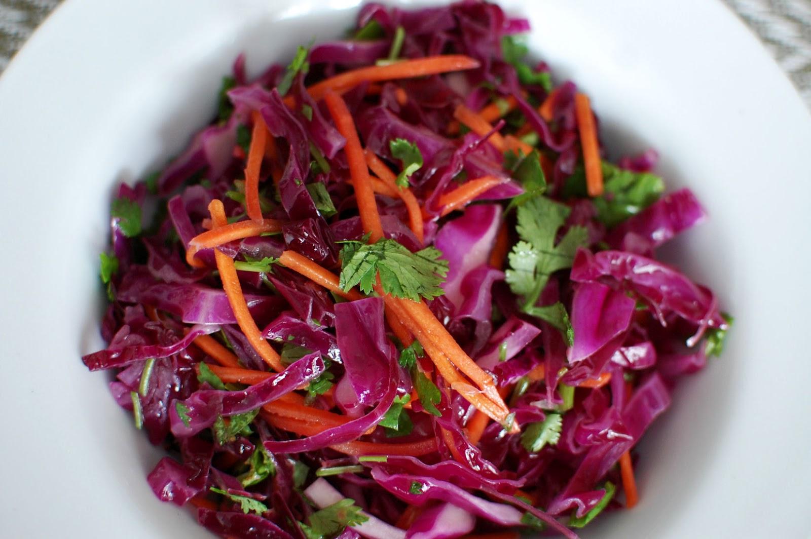 Cabbage-and-Cilantro Slaw