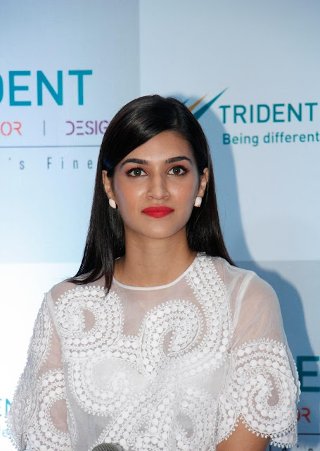 Kriti Sanon Looks Super Sexy At Trident Group Home Linen Collection Launch In Mumbai
