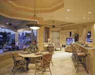 desain ruang makan rumah klasik