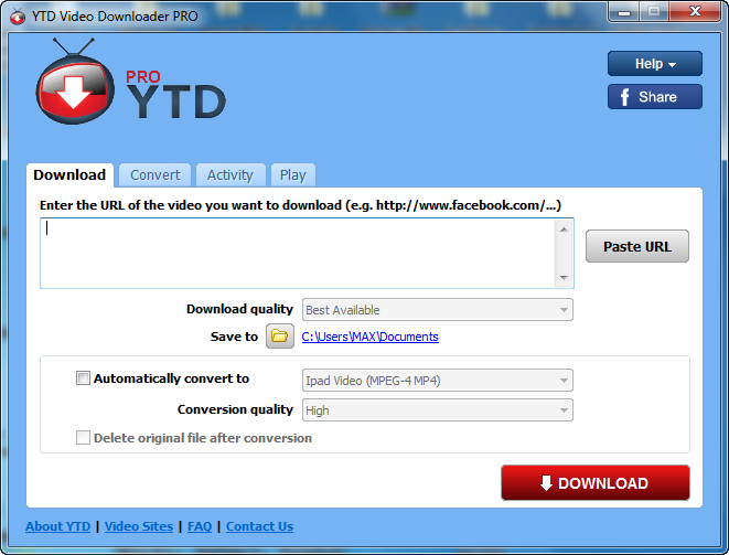 """ YouTube Video Downloader 4.9.0.3 2014,2015 YTD+Video+Downlo"