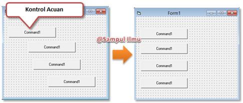 Cara Mudah Dan Cepat Merapikan Kontrol Pada Form Di Visual Basic