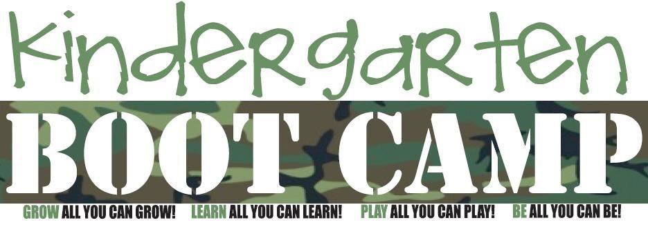Kindergarten Boot Camp!