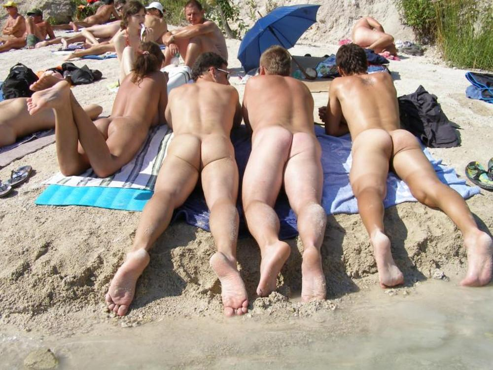 image Nudist beach voyeur camera hunting for naked pussies