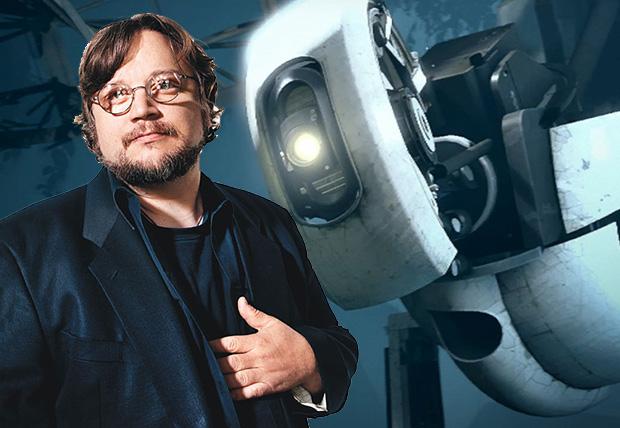 Guillermo del Toro y GladOS