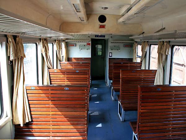 Asientos duros del tren a Sapa