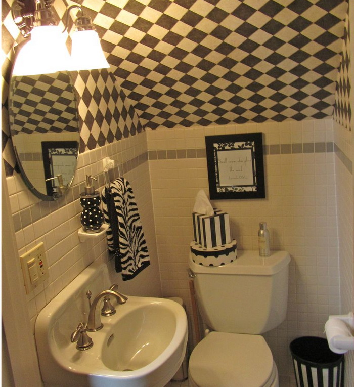 Baño Debajo De Escalera Con Ducha:If you have no space for a library, you can have a makeshift one, with