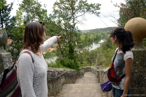 Vistas desde San Saturio en Soria, España. Por Viaja et verba