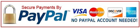Use PayPal's secure payment site above to purchase with Credit Card or your PayPal account