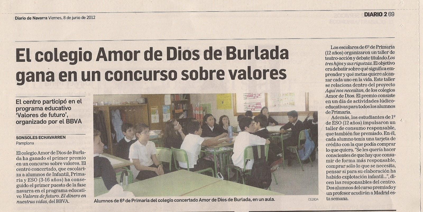 Colegio amor de dios burlada amor de dios en el periodico - Colegio amor de dios oviedo ...