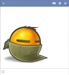 Bandit Emoticon For Facebook