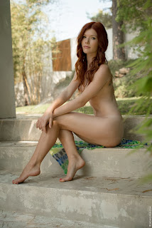 Mia+Sollis+Wild+Beauty+Outdoor+Nude+www.CelebTiger.com+08 Redhead Beauty Mia Sollis Is Naked & Enjoying Herself Photos