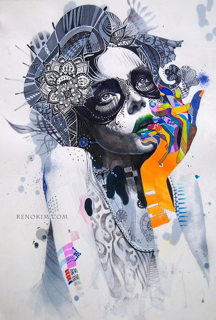 Korean artist Minjae Lee aka Greno reviewed by Yellowmenace