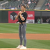 McKayla Maroney throws acrobatic first pitch at White Sox game (Video)