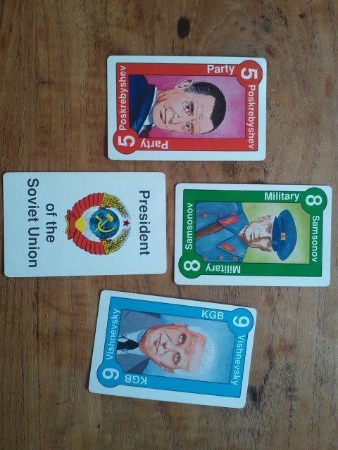 Leaders and PotSU cards