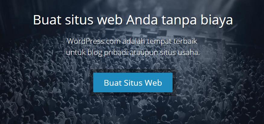 Buat Blog WordPress Gratis