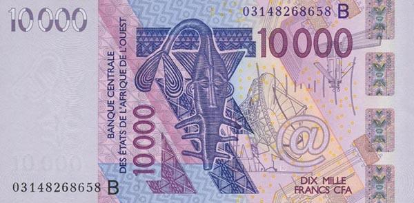 Image result for benin republic CFA Franc banknotes 2016